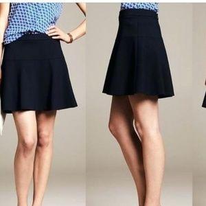 Banana Republic navy blue mini skirt